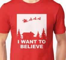 Santa - I want to Believe Unisex T-Shirt
