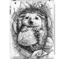 Little hedgehog iPad Case/Skin