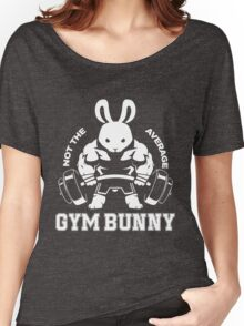 Not the average GYM BUNNY Women's Relaxed Fit T-Shirt