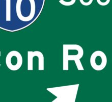 Baton Rouge, LA Road Sign, USA Sticker