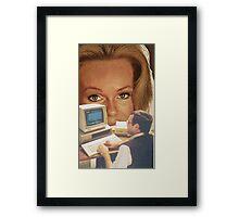 Computer Eyes Framed Print