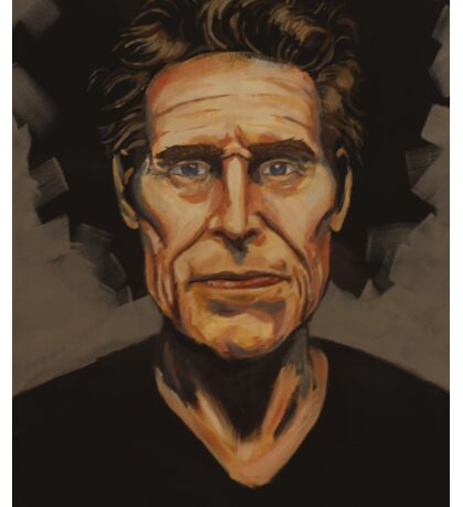 Willem Dafoe Sticker