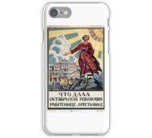 Soviet Woman iPhone Case/Skin