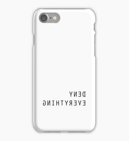 The X Files Deny Everthing iPhone Case/Skin