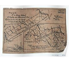 192 Map of the NC Morse patent of eighty-six thousand acres of coal timber iron etc lands in Pike County Kentucky ; Map of part of Kentucky and Virginia W Va Poster