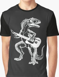 Dino the Guitar Hero Graphic T-Shirt