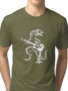 Dino the Guitar Hero Tri-blend T-Shirt