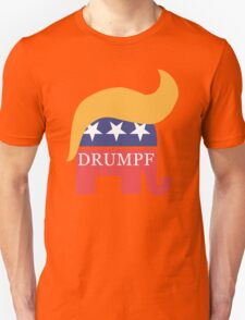 Drumpf 2016 GOP Elephant Hair  T-Shirt