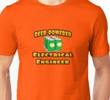 Beer Powered Electrical Engineer Unisex T-Shirt