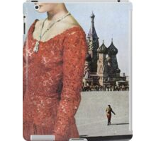 Lady in Red Square iPad Case/Skin