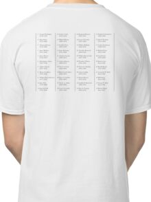 Presidents, of the United States, American, List, America, USA Classic T-Shirt