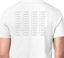 Presidents, of the United States, American, List, America, USA Unisex T-Shirt