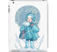 Winter Songs iPad Case/Skin