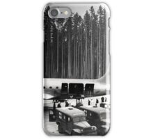 Evacuation from the Tall Trees iPhone Case/Skin