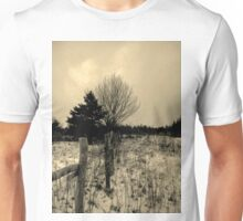 Baby it's snow outside Unisex T-Shirt