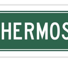Hermosillo, Highway Sign, Mexico Sticker