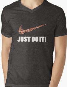 JUST DO IT! Mens V-Neck T-Shirt