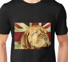 Dogue De Bordeaux Union Jack Unisex T-Shirt