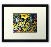 Turn Pro, Hunter S. Thompson tribute Framed Print