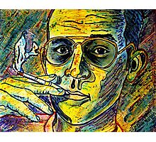 Turn Pro, Hunter S. Thompson tribute Photographic Print