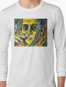 Turn Pro, Hunter S. Thompson tribute Long Sleeve T-Shirt