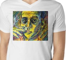 Turn Pro, Hunter S. Thompson tribute Mens V-Neck T-Shirt