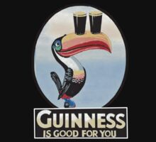 GUINNESS IS GOOD FOR YOU TOUCAN Baby Tee