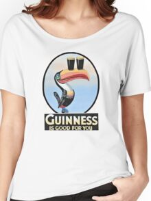 GUINNESS IS GOOD FOR YOU TOUCAN Women's Relaxed Fit T-Shirt