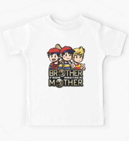 Another MOTHER Trio (Ness, Ninten & Lucas) Kids Tee