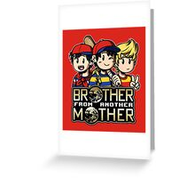 Another MOTHER Trio -alt- (Ness, Ninten & Lucas) Greeting Card