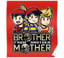 Another MOTHER Trio -alt- (Ness, Ninten & Lucas) Poster