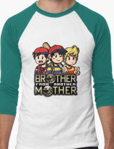 Another MOTHER Trio -alt- (Ness, Ninten & Lucas) Men's Baseball ¾ T-Shirt