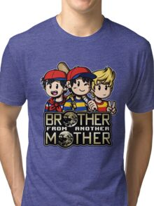 Another MOTHER Trio -alt- (Ness, Ninten & Lucas) Tri-blend T-Shirt