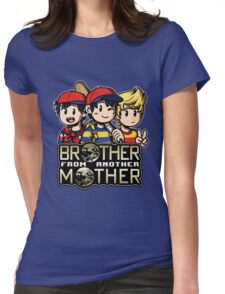 Another MOTHER Trio -alt- (Ness, Ninten & Lucas) Womens Fitted T-Shirt