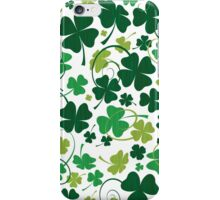 Floral Lucky Clovers #01 iPhone Case/Skin