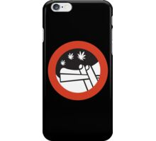 No Joint Smoking, Street Sign, Amsterdam, Netherlands iPhone Case/Skin