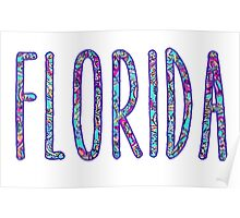 Florida - Lilly Pulitzer Poster