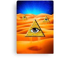 Desert Illuminati Canvas Print