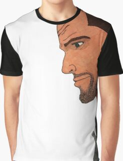 Commander Shepard's Profile Graphic T-Shirt