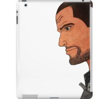 Commander Shepard's Profile iPad Case/Skin