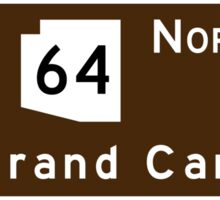 Grand Canyon, Arizona Road Sign, USA Sticker