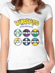 Cardfight Vanguard Balls Women's Fitted Scoop T-Shirt