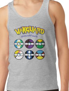 Cardfight Vanguard Balls Tank Top