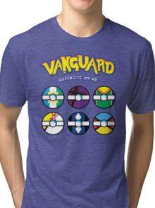 Cardfight Vanguard Balls Tri-blend T-Shirt