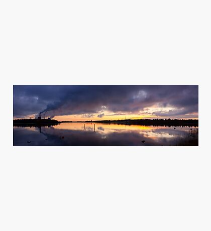 Oulu sunset Photographic Print