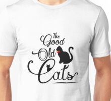 The Good Old Cats Brand Logotype Unisex T-Shirt