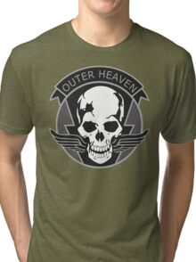MGS - Outer Heaven Logo Tri-blend T-Shirt
