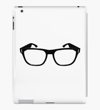 Hipster (or nerd) glasses iPad Case/Skin