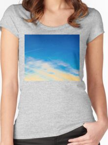 Blue Skies Women's Fitted Scoop T-Shirt