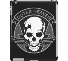 MGS - Outer Heaven Logo iPad Case/Skin
